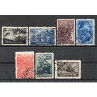 Великая Отечественная война СССР 1942 год серия из 7 марок
