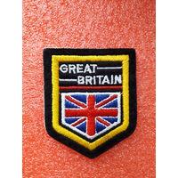 """Нашивка-самоклейка """"Великобритания"""""""