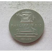 Германия - ГДР 5 марок 1974 100 лет со дня смерти Иоганна Филиппа Рейса