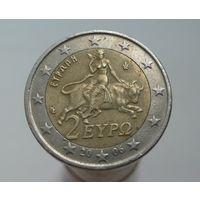 2 евро 2006 Греция пореже