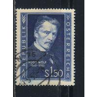 Австрия Респ 1953 Хуго Вольф 50-летие смерти #981