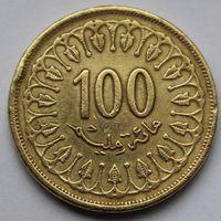 Тунис, 100 миллимов 1997 г