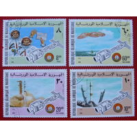 Мавритания. Космос. ( 4 марки ) 1975 года.
