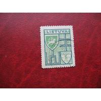 Марка стандартного выпуска 1934 год Литва