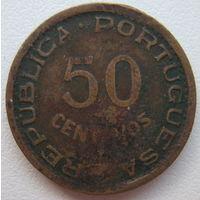 Ангола Португальская 50 сентаво 1961 г. (g)
