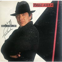 Paul Anka, Walk A Fine Line, LP 1983