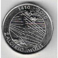 Литва 1 лит 2010 600 лет Грюнвальдской битве