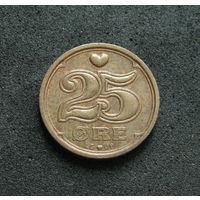 Дания 25 эре 1998