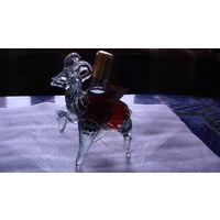 Бутылка фигурная (горный козёл) 75 млл. стекло. распродажа