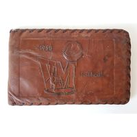 Кожаное портмоне:  Чемпионат мира по футболу 1958 г.