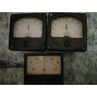 Амперметр М4251, 6х6см.