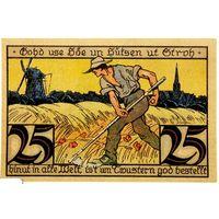 РАСПРОДАЖА!!! - ГЕРМАНИЯ ТВИСТРИНГЕН (Нижняя САКСОНИЯ) 25 пфеннигов 1921 год - UNC!