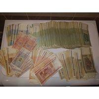 Банкноты рб 2000 года 665шт.