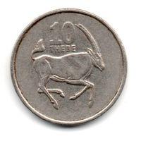 РЕСПУБЛИКА БОТСВАНА 10 ТХЕБЕ 1998. АНТИЛОПА