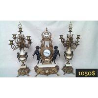 Великолепные Каминные Часы Germany. Середина ХХ века