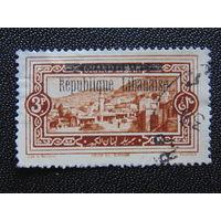 Республика Ливан на марках Великого Ливана. Архитектура.
