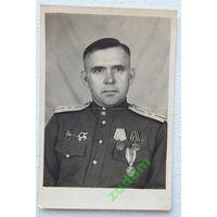 Капитан  РККА  8,5х12,5 см