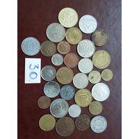 30 монет мира