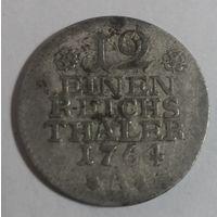 Пруссия, 1/12 талера 1764 г.,  (А);