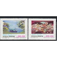 Аргентина гобелены 1982 ** Искусство
