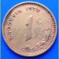 6593:  1 цент 1975 Родезия
