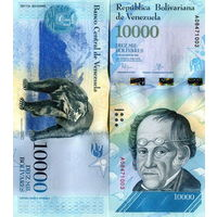 Венесуэла  10000 боливаров  UNC