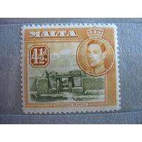 Британская  Мальта.  1938г.