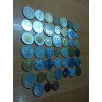 Коллекция монет Европы,Азии,Америки,Африки
