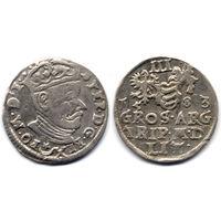 Трояк 1583, Стефан Баторий, Вильно. R