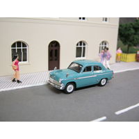 Модель автомобиля Москвич 403 HERPA. Масштаб НО-1:87.