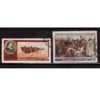 СССР-1956, (Заг.1836-1837)   гаш., И.Репин