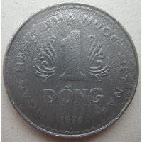 Вьетнам 1 донг 1976 г. (u)
