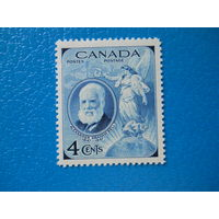 Канада. 1947 г. Мi-238. 100-летие со дня рождения А.Г.Белла.