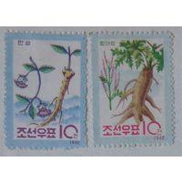 Овощные растения.  Северная Корея. Дата выпуска: 1962-11-30        3 шт