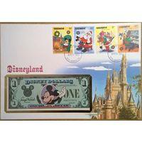 1 Disney $ 1987г. А 1-й год выпуска -редкость-