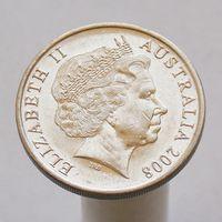 Австралия 20 центов 2008