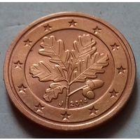 2 евроцента, Германия 2014 J, UNC