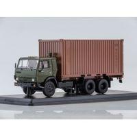 КАМАЗ 53212 с 20-футовым контейнером SSM