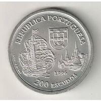 Португалия 200 эскудо 1996 Альянс Португалии и Сиама 1512 года