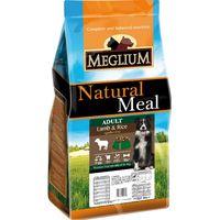 Meglium Sensible корм для собак всех пород с ягненком и рисом, Италия