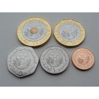 Мавритания. Набор из 5 монет 2017 года (1789) Новый дизайн!