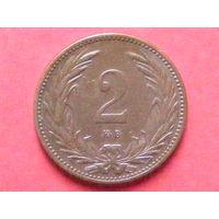 2 филлера 1895 года КВ МД Кремница
