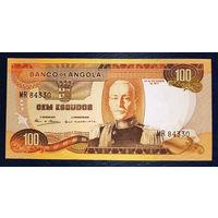 Ангола 100 эскудо 1972 год UNC