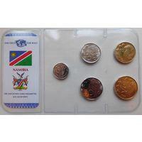 7. Намибия, набор монет.
