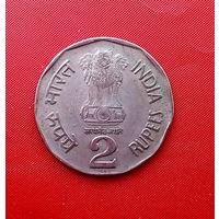 92-13 Индия, 2 рупии 1994 г.