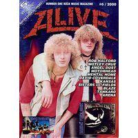 """Музыкальный журнал """"ALIVE"""" #6/2000"""