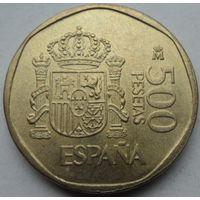 Испания 500 песет 1989 года. Состояние aUNC!