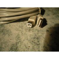 Провод USB принтера, 3.05 м.