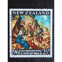 Новая Зеландия 1961 год. Рождество.