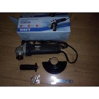 Угловая шлифмашинка(болгарка) Watt WWS-850,Original, новая,на гарантии.Полный комплект